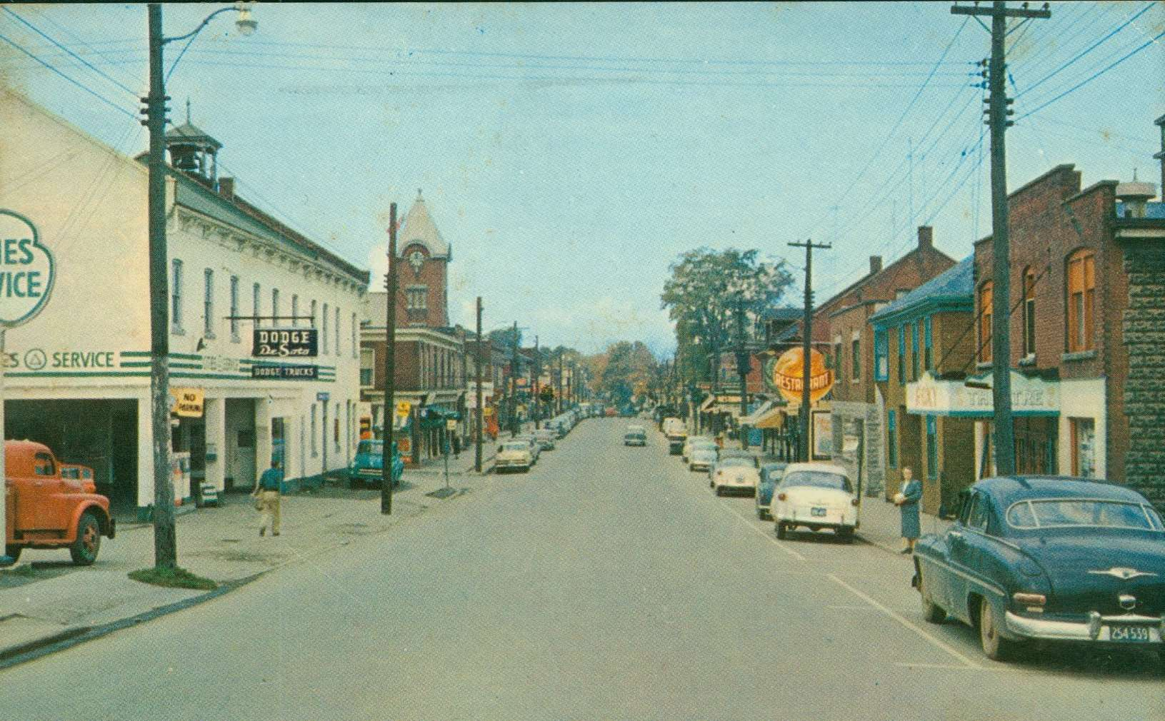 old photo of Main Street Grimsby