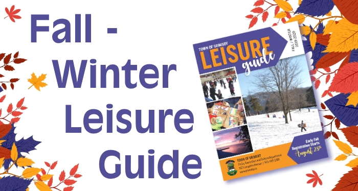 cover image of the 2019/20 Fall-Winter Leisure Guide