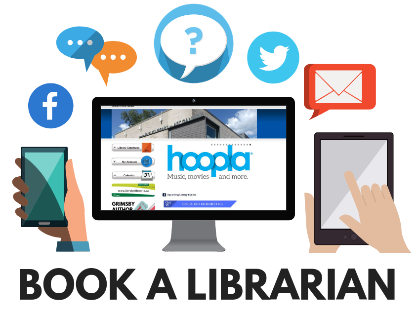 book a librarian graphic