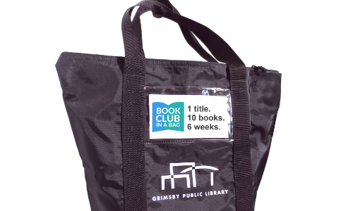 Book Club in a Bag with logo