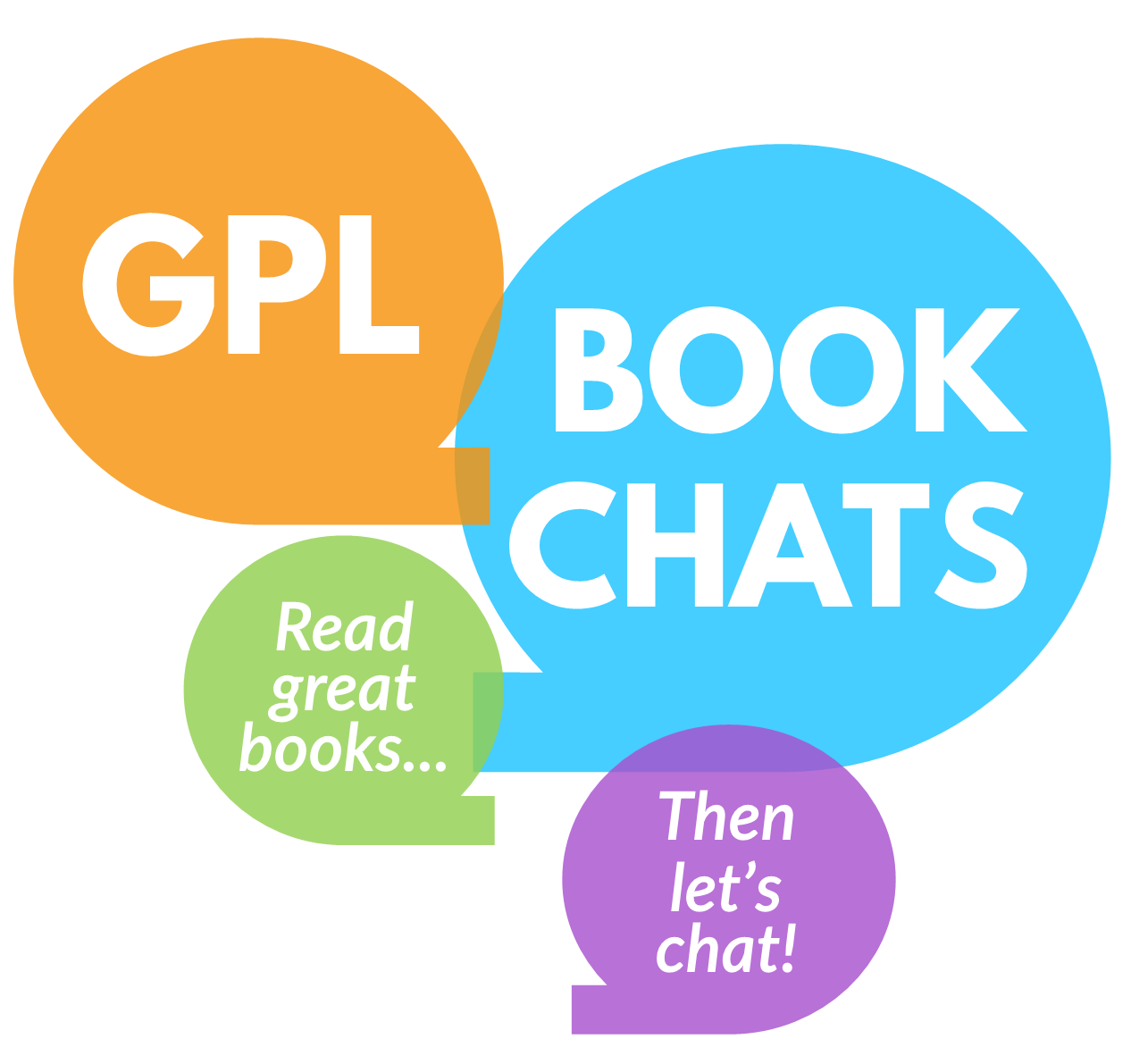GPL Book Chats: Read great books graphic