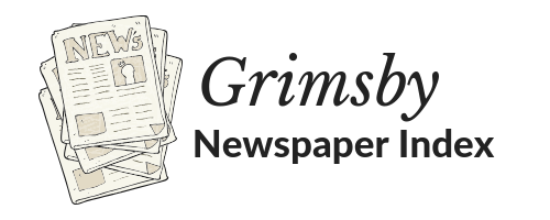 Grimsby Newspaper Index on OurOnatrio.ca button