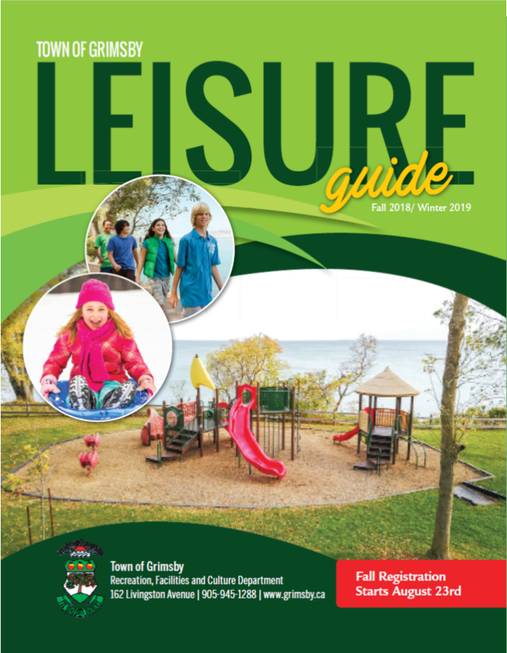 Leisure Guide Cover